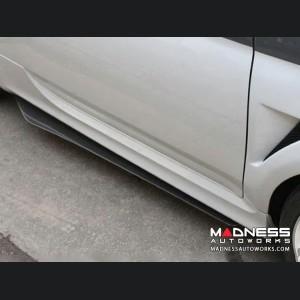 FIAT 500 Side Skirts - Carbon Fiber