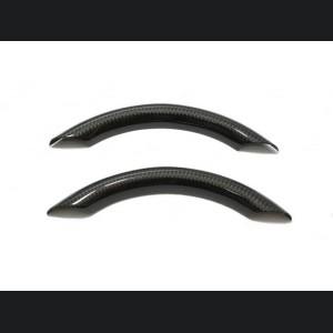 FIAT 500 ABARTH Upper Steering Wheel Trim - Carbon Fiber - EU Model