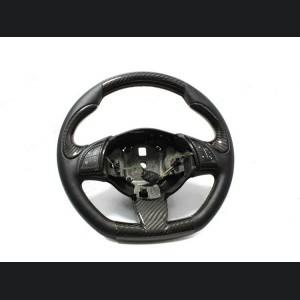 FIAT 500 ABARTH Steering Wheel Lower Trim Piece - Carbon Fiber