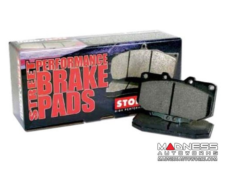 FIAT 124 Brake Pads by Centric - Front - Posi Quiet
