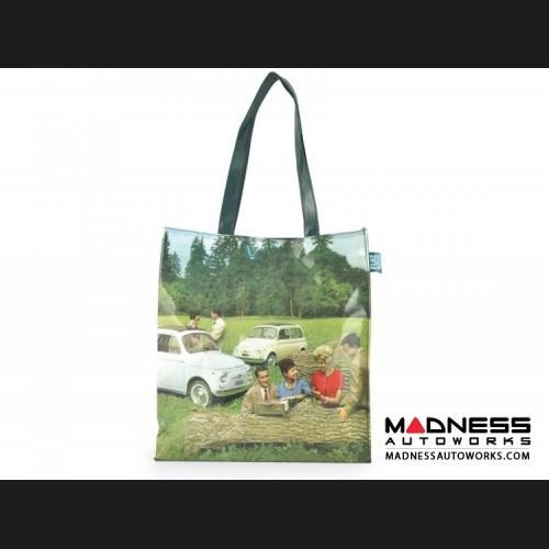 Classic Fiat 500 Shopping Bag - PVC - Country