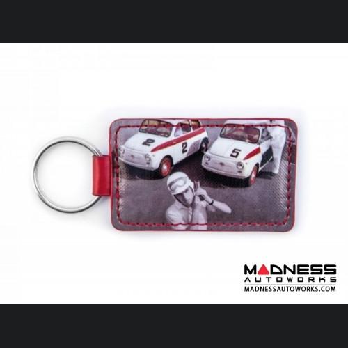 Keychain - Classic Fiat 500 - PVC - Sport