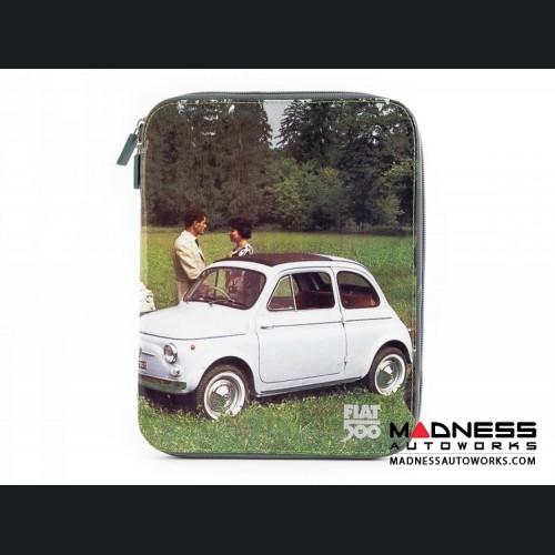 Classic Fiat 500 Tablet Case - PVC - Picnic