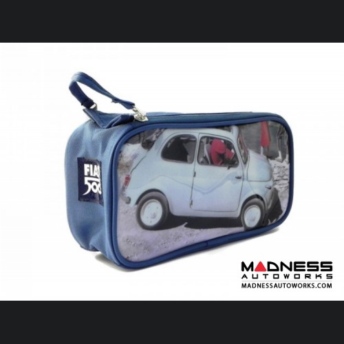 Classic Fiat 500 Beauty Case - PVC - Dock