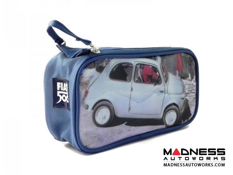 Classic Fiat 500 Beauty Case - PVC - Dock