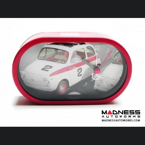 Classic Fiat 500 Alarm Clock - Sport