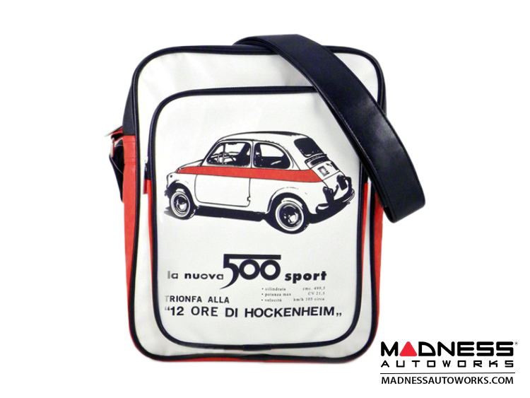 Shoulder Bag - FIAT 500 - White - Medium