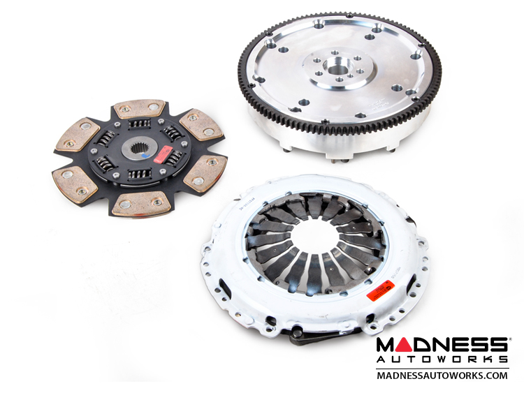 FIAT 500 Performance Clutch + Flywheel Combo - Clutch Masters - 1.4L Turbo - Stage 5 Sprung