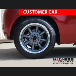 "FIAT 500 Custom Wheels - Monza 15x7.5"" 4-98 BP (Gunmetal Finish)"