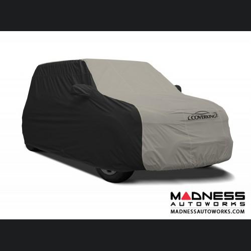 FIAT 500 Custom Vehicle Cover - Stormproof - Black w/ Gray Center