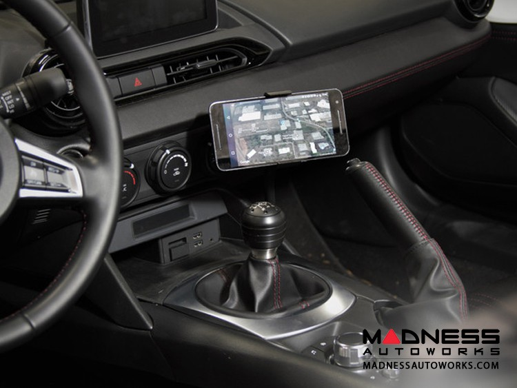 FIAT 124 Mobile Cradle for Cell Phones by CravenSpeed - Gemini Smart Phone/ ScanGauge Mounting Kit