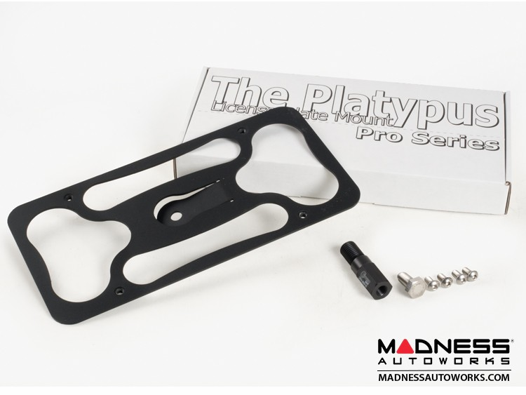 FIAT 500L License Plate Mount - Platypus Pro Series
