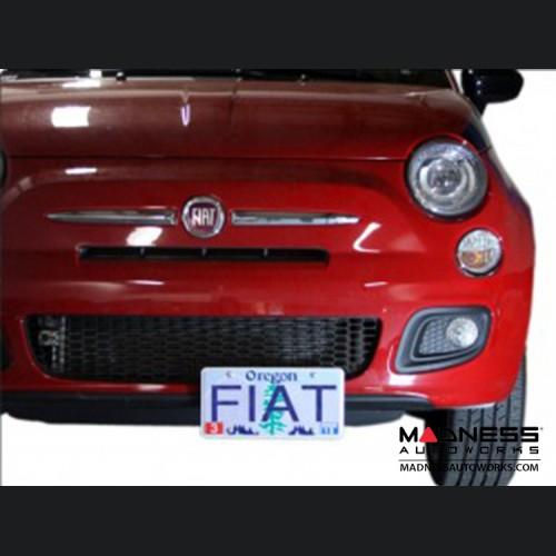 FIAT 500 License Plate Mount - Platypus - V1