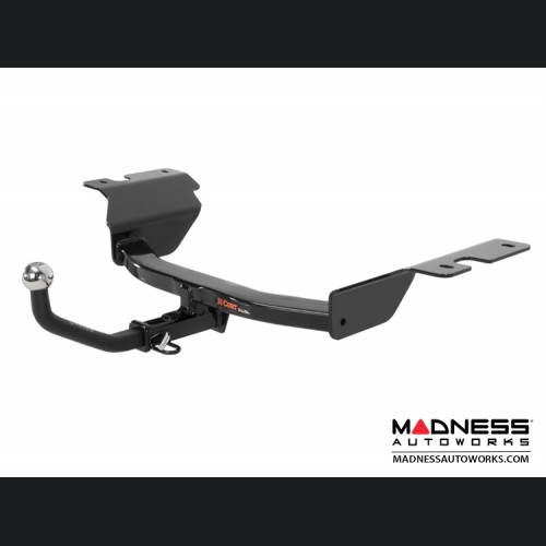 """FIAT 500 Trailer Hitch - ABARTH + - 1-7/8"""" Euromount Included"""