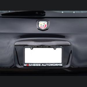 FIAT 500 Trunk Handle - Carbon Fiber