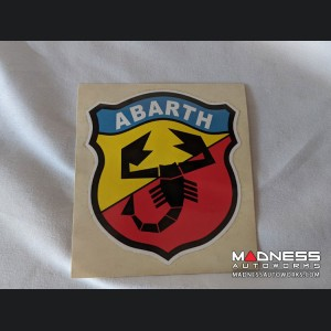 "ABARTH Emblem Decal - Classic - 4"""