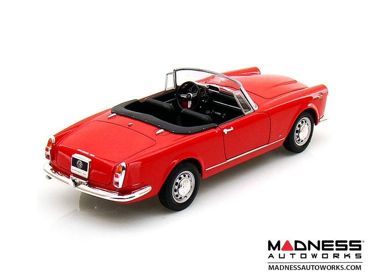 Innovative Alfa Romeo Spider 2600  1960 Soft Top Convertible Down