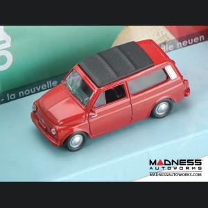 Fiat 500 Classic Die Cast Model 1/43 scale - Nuova 500 Giardinetta - Red