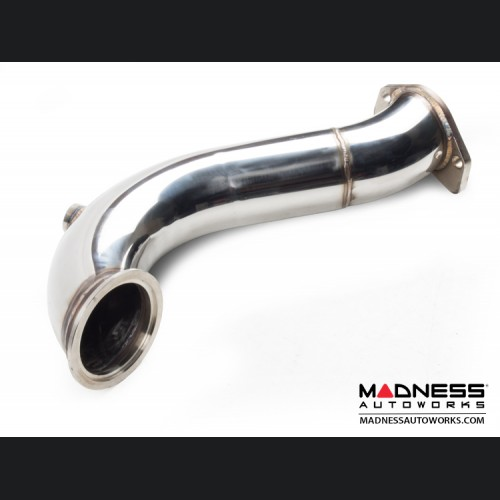 FIAT 500 De-Cat Pipe by MADNESS