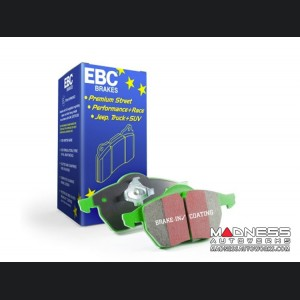 FIAT 124 Brake Pads - EBC - Front - Green Stuff