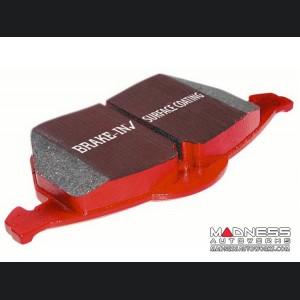 FIAT 500 Brake Pads - EBC - Front - Red Stuff