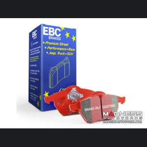 FIAT 124 Brake Pads by EBC - Front - Red Stuff - ABARTH