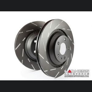 FIAT 500X Brake Rotors - EBC - Rear - Slotted