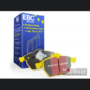 FIAT 124 Brake Pads by EBC - Rear - Yellow Stuff