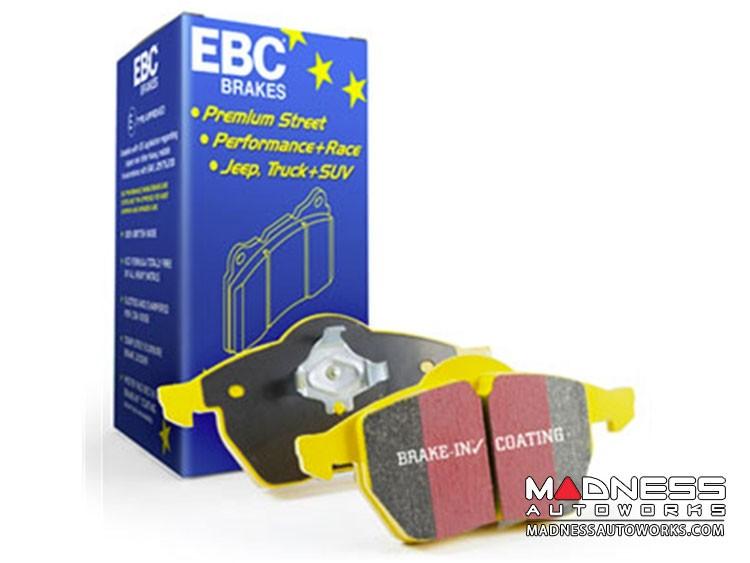 FIAT 124 Brake Pads by EBC - Front - Yellow Stuff - ABARTH