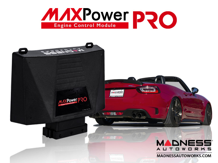 FIAT 124 Spider Engine Control Module - MAXPower PRO by MADNESS