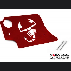 FIAT 500 Engine Cover for MAXFlow Intake System - 1.4L Multi Air Turbo - Scorpion Design - Red