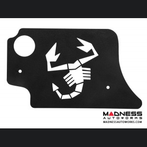 FIAT 500 Engine Cover for MAXFlow Intake System - 1.4L Multi Air Turbo - Scorpion Design - Black