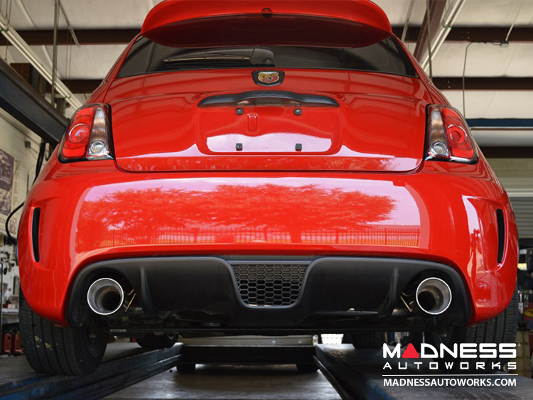 fiat 500 abarth performance exhaust by mpx rear section. Black Bedroom Furniture Sets. Home Design Ideas