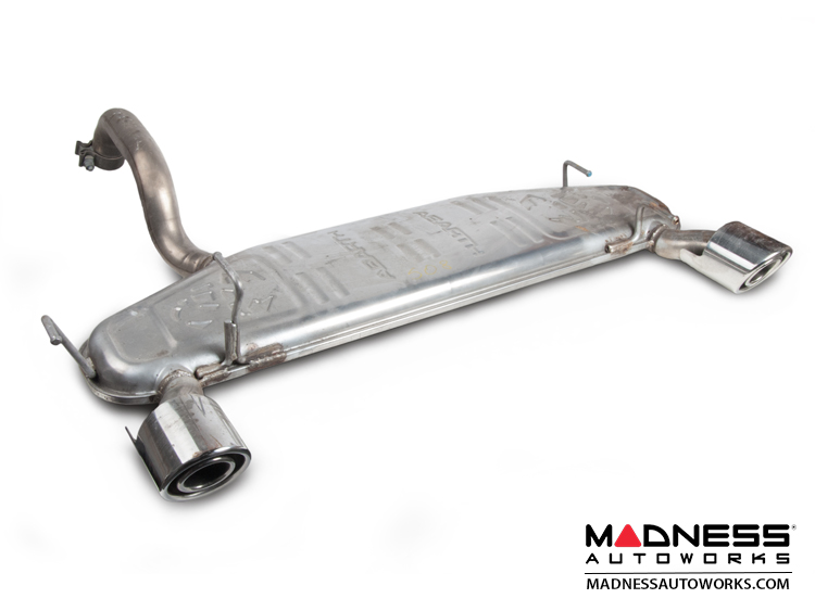 Fiat 500 Abarth Exhaust Original Axle Back Design V1