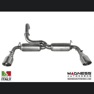 FIAT 500 ABARTH Performance Axle Back Exhaust - Ragazzon - Evo Line - Resonated Dual Sport Line Tip