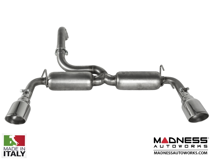 FIAT 500 ABARTH Performance Axle Back Exhaust by Ragazzon - Evo Line