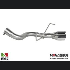 FIAT 500 ABARTH Performance Axle Back Exhaust - Ragazzon - Evo Line - Center Exit - Dual Tip