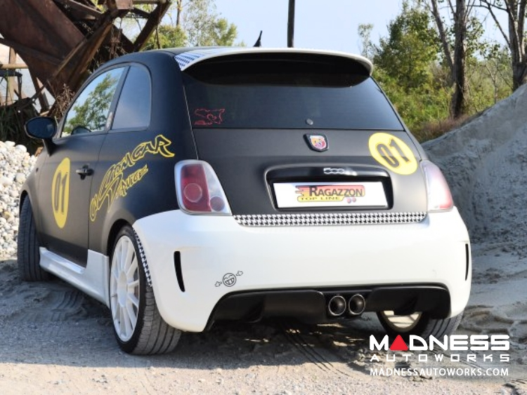 Fiat 500 Abarth Performance Axle Back Exhaust By Ragazzon Evo Exit Car: Fiat 500 Exhaust Sound At Woreks.co