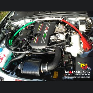 FIAT 124 Spider MAXFlow Intake System - Wrinkle Black