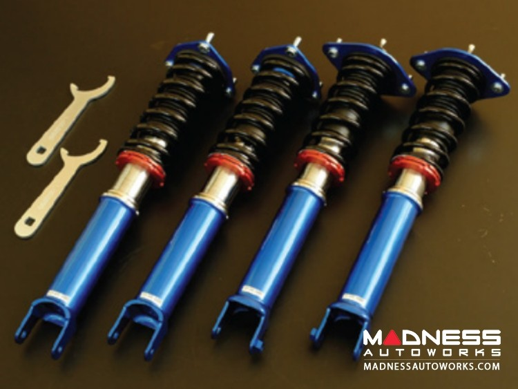 FIAT 124 Spider Coilover Set by Cusco - Street Zero A w/ Pillowball Top Mounts
