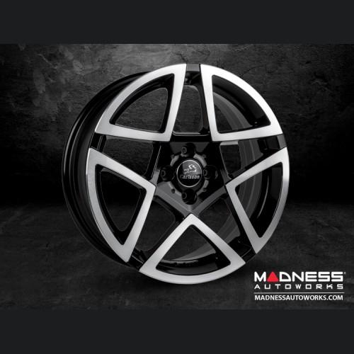 FIAT 124 Spider Custom Wheels by Carlsson - Revo III TE (Diamond)