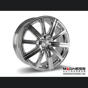 "FIAT 124 Spider Custom Wheels - Illusion - Custom Chrome Finish - 17"""