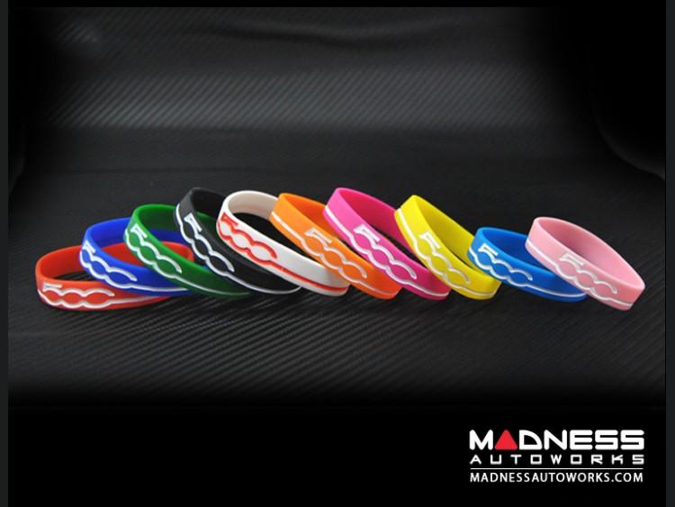 FIAT 500 Silicone Bracelets - Set of 10 (Variety Pack)