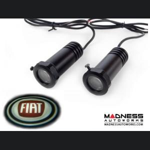 Puddle/ Welcome Lights (2) - Internal Mount Design - FIAT Logo