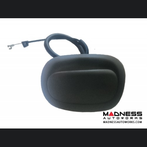FIAT 500 Folding Seat Release Cable - Driver Side - Black - Genuine FIAT
