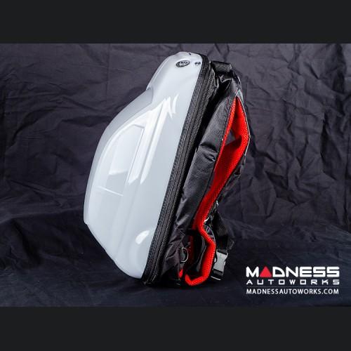 FIAT 500 Backpack - Hard Shell Design in White