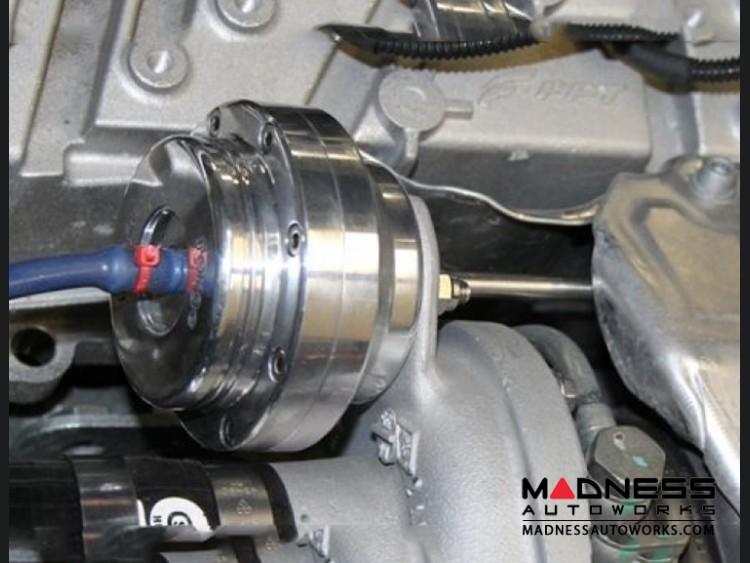 the fiat installed en oil turbo on gauge abarth for petrol pressure gauges