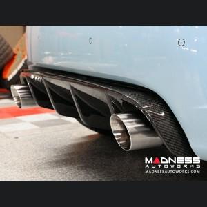 FIAT 500 Rear Diffuser - Carbon Fiber - Dual Exit - Estremo