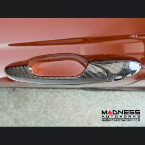 FIAT 500 Door Handle Covers  - Carbon Fiber