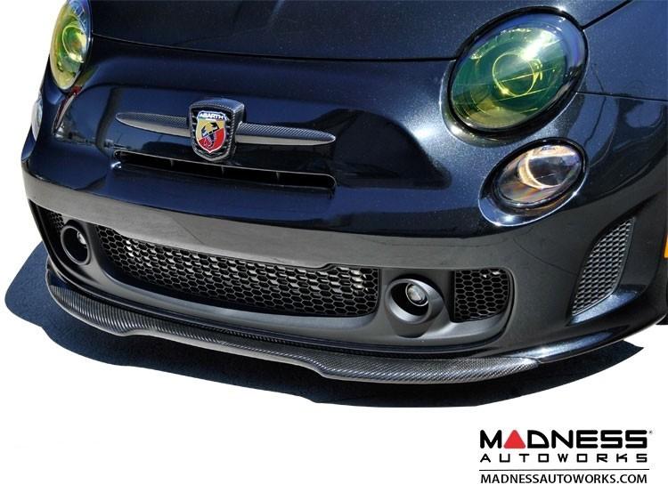 FIAT 500 Front Spoiler - Carbon Fiber